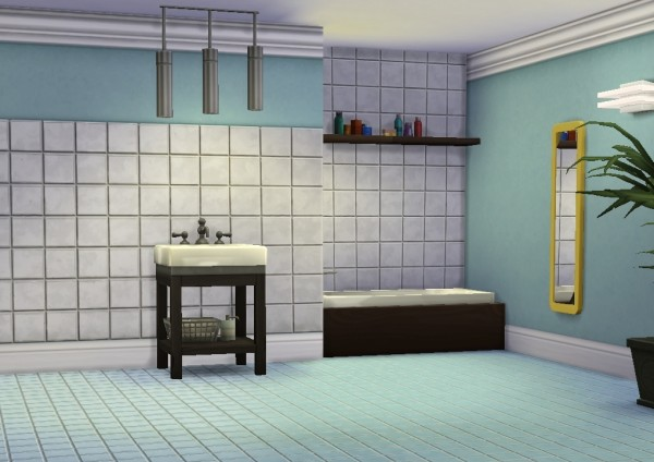 Mod The Sims: Basic Standard Add On: Trim and Tile by plasticbox