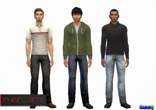 NY Girl Sims: Denim conversion