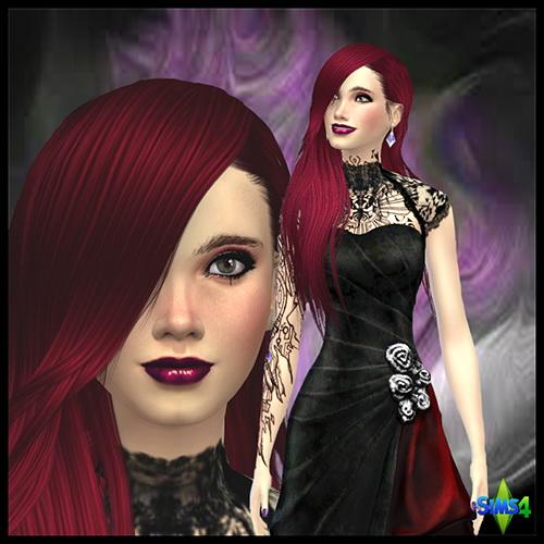 Les Sims 4 Passion: Sybile LINE