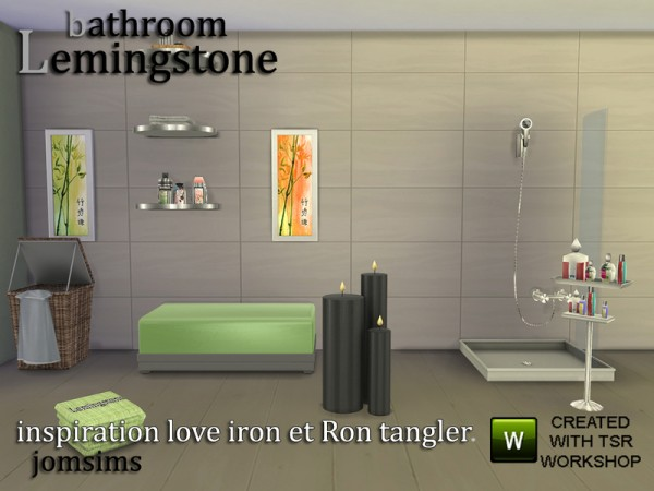 The Sims Resource Bathroom Lemingstone By Jomsims Sims