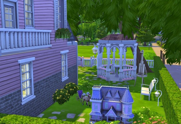 Architectural tricks from Dalila: Daisy cottage