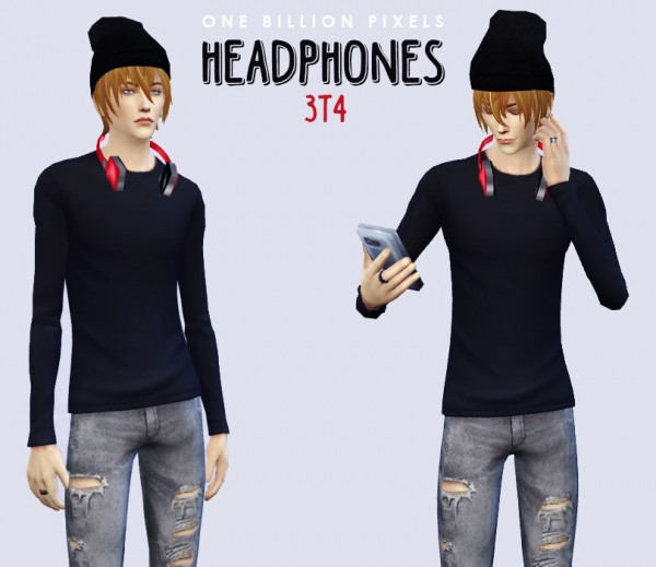 One Billion Pixels: Headphones converted from TS3 to TS4