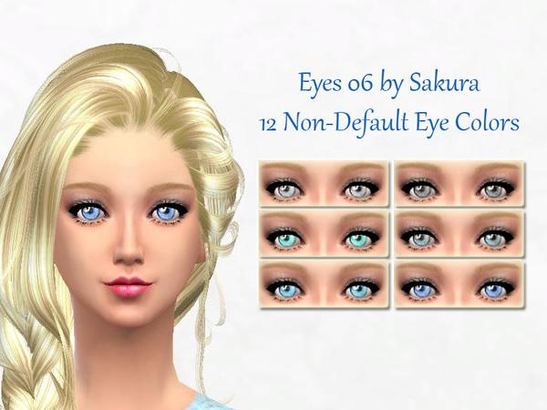The Sims Resource: Eyes 06 by Sakura Phan