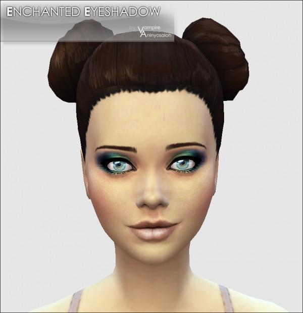 Mod The Sims: Enchanted Eyeshadow  5 colors  by Vampire aninyosaloh