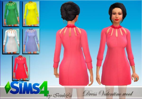 Irinka: Wool Dress