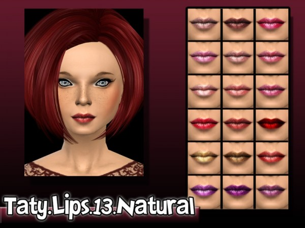 The Sims Resource: Lipstick 13 by Taty