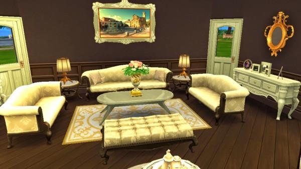 Sanjana Sims: Elegant Living Room