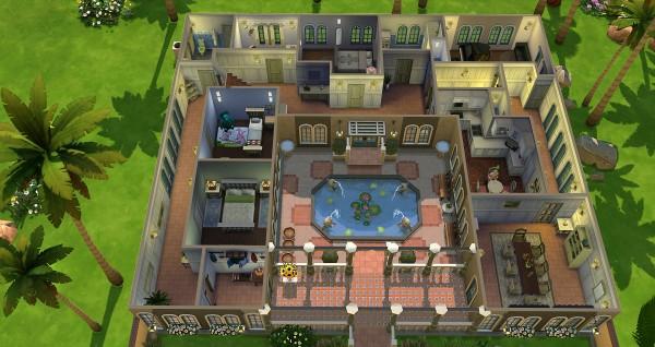 Studio Sims Creation: Havane residential house