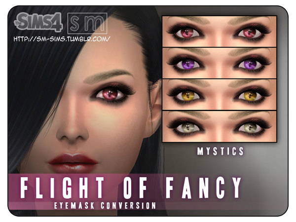 The Sims Resource: Eye Mask by Screaming Mustard