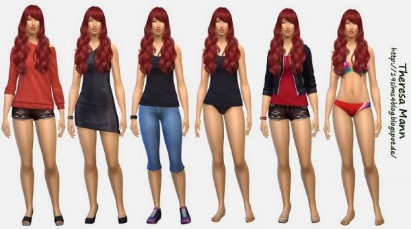 19 Sims 4 Blog: Theresa Mann