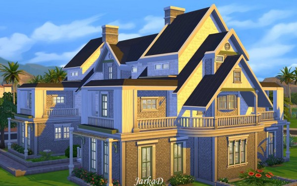JarkaD Sims 4: Family House No.4 • Sims 4 Downloads
