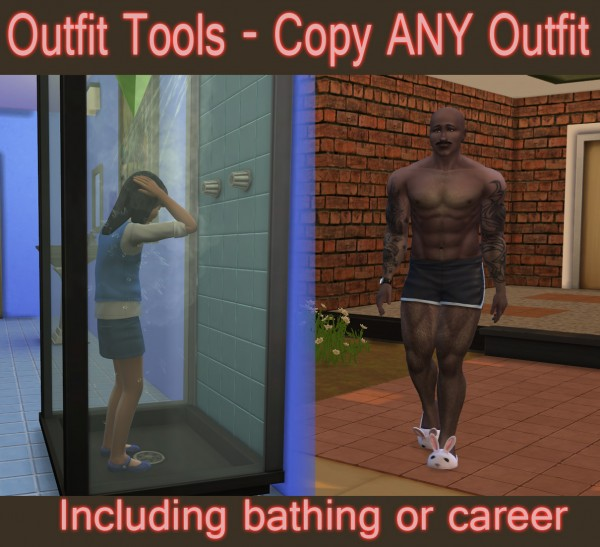 Mod The Sims: Outfit Tools   Copy Any Outfit by scumbumbo