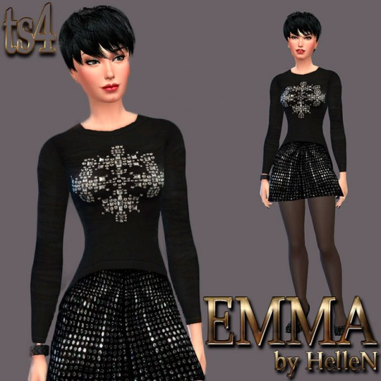 Sims Creativ: Emma by HelleN