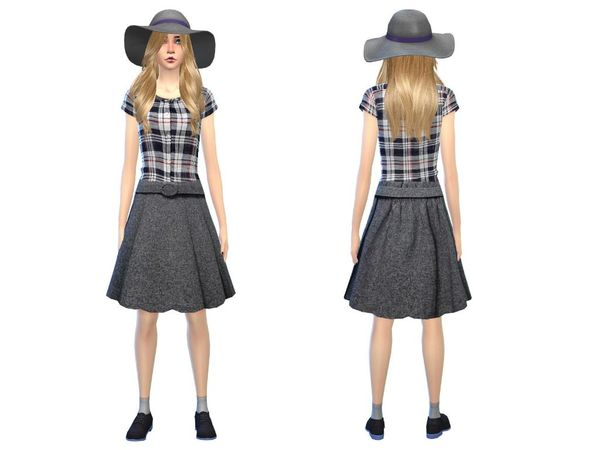 The Sims Resource: Sweet girl outfit by Simsoertchen
