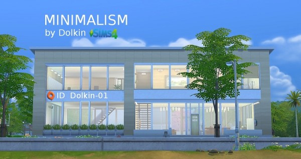 Ihelen Sims Minimalism Residential House By Dolkin Sims 4 Downloads