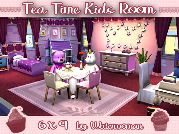 Akisima Sims Blog: Tea Time Kids Room