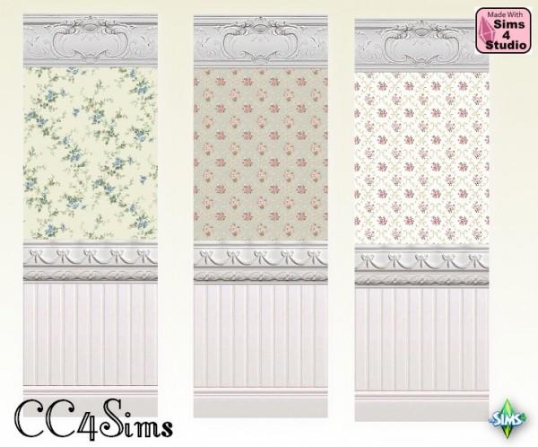 CC4Sims: Flower walls