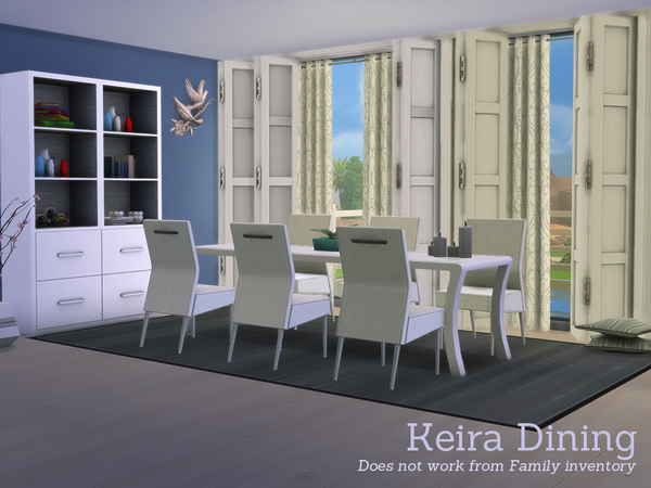The Sims Resource: Keira Dining by Angela