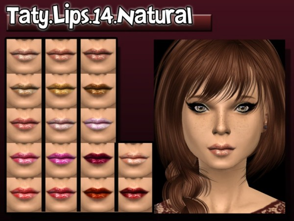 The Sims Resource: Liptick 14 by Taty