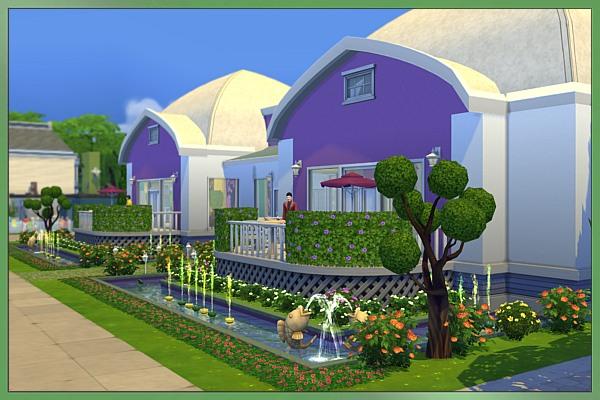 Blackys sims 4 zoo botanical garden by cappu sims 4 for Garden design sims 4