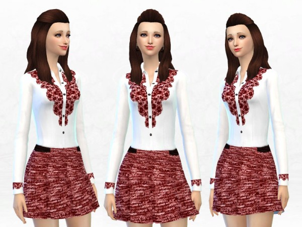 The Sims Resource: Pretty Girls dress by Sakura Phan