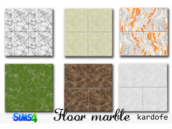 The Sims Resource: Floor marble by Kardofe