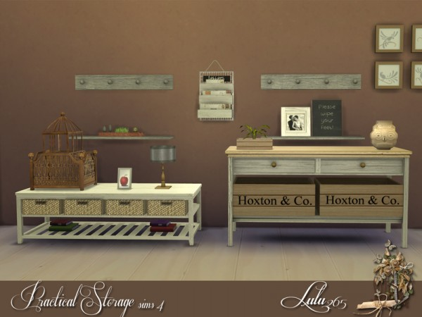 The Sims Resource: Practical Storage set by Lulu265
