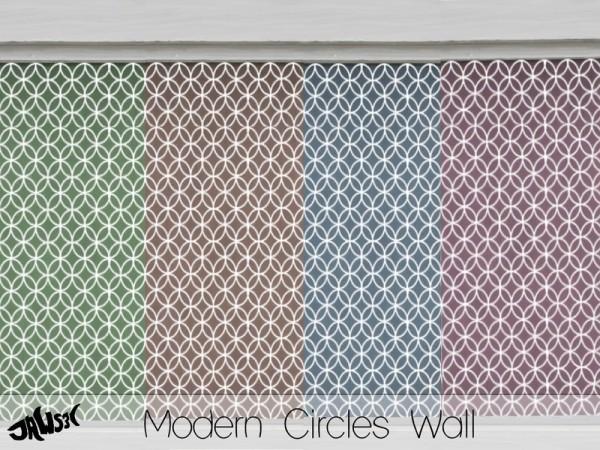 The Sims Resource: Modern Circle Walls Set by Jaws3