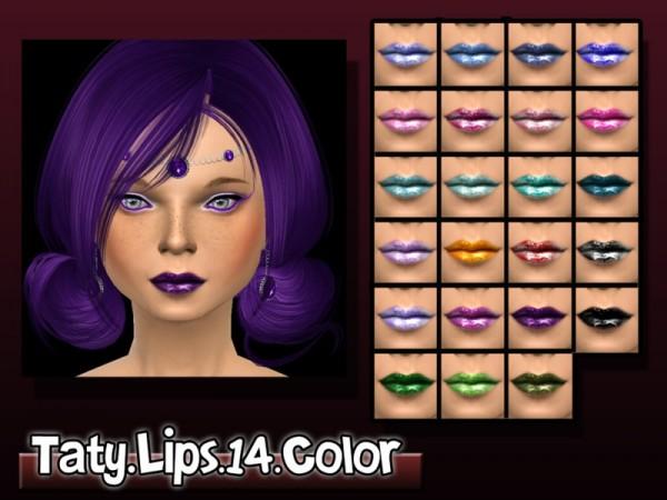 The Sims Resource: Liptick 14 by Taty