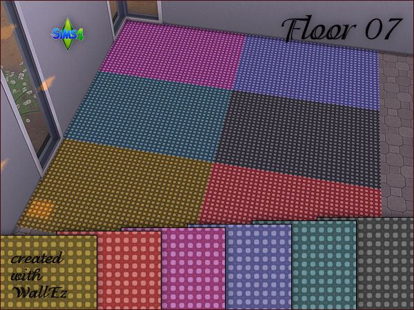 Arte Della Vita: 4 carpet floors in 6 different colors