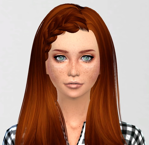 Sim Agency: Elena female sims model