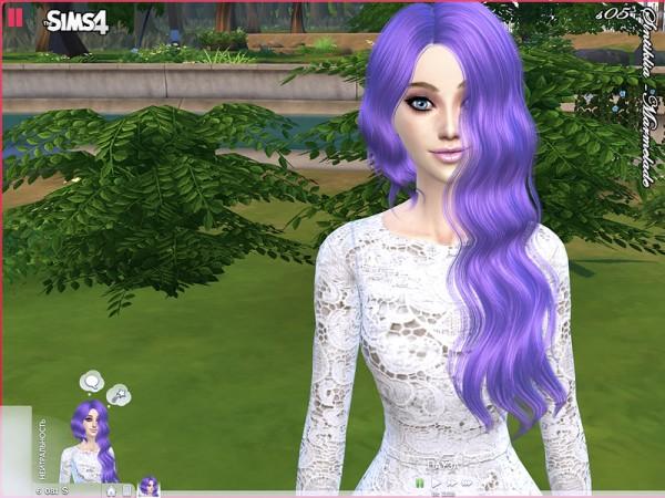 The Sims Resource: Marmelade hair by Sintiklia