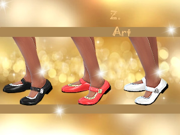 The Sims Resource: Fine Shoes by Zuckerschnute20