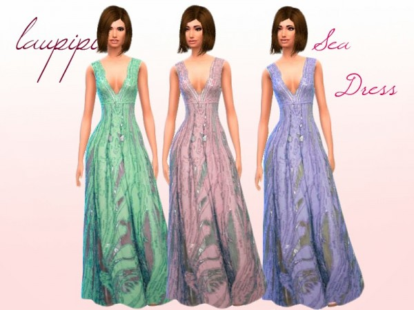 Laupipi: Sea dress by Laupipi