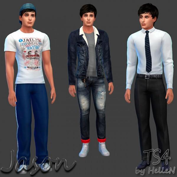 Sims Creativ: Jason by HelleN