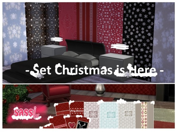 The Sims Resource: Set Christmas is Here by sassitsr