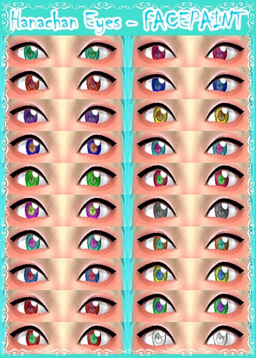 Decay Clown Sims: Hanachan Eyes