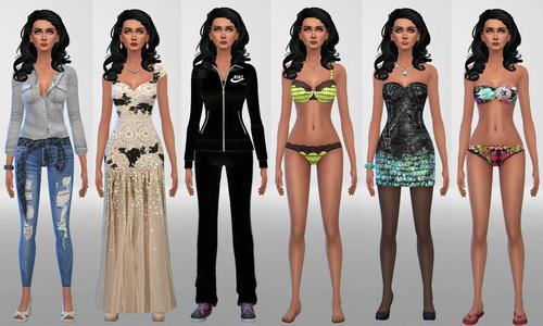 Sim Agency: Ana sim model