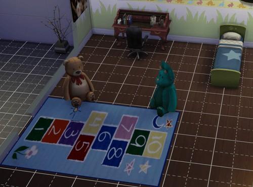 Darkiie Sims 4: Kids Rugs