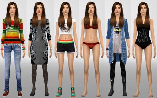 Sim Agency: Lenox sim model
