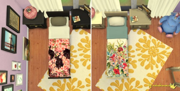 In a bad romance: Single bed recolors