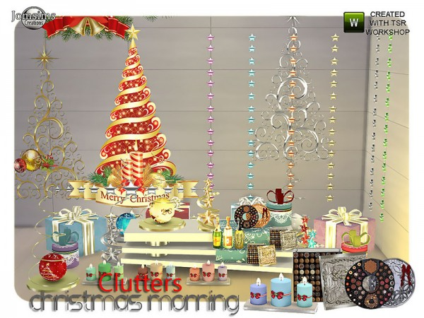 The Sims Resource: Christmas morning clutters by Jom Sims