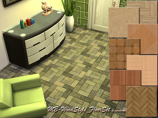 The Sims Resource: Wood Style Floor Set by  matomibotaki