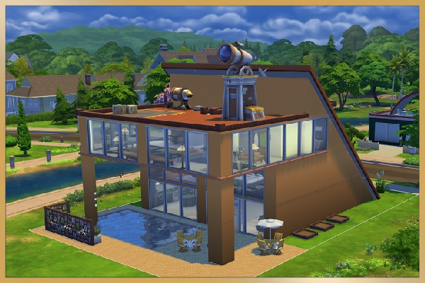 Blackys Sims 4 Zoo Villa With Section By Kosmopolit