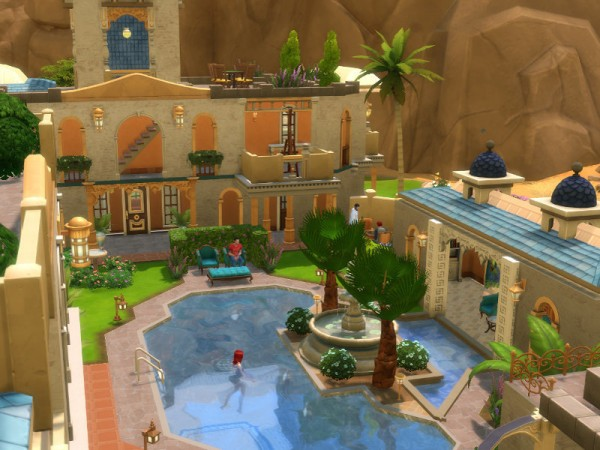 The Sims Resource Grand Hotel By Leander Belgraves Sims