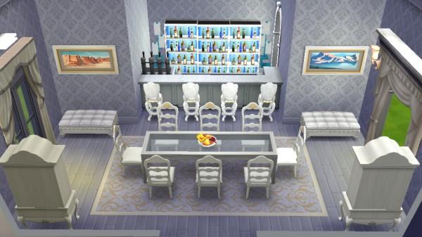 Sanjana Sims: Luxury White Dining