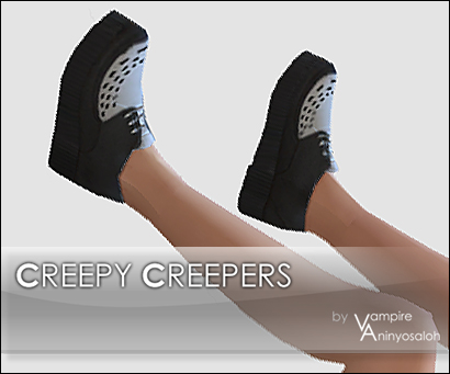 Mod The Sims: Creepy Creepers  5 colors  by Vampire aninyosaloh