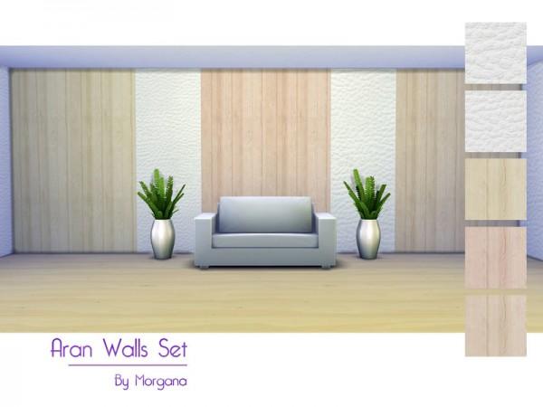 The Sims Resource: Aran Walls Set by Morgana14