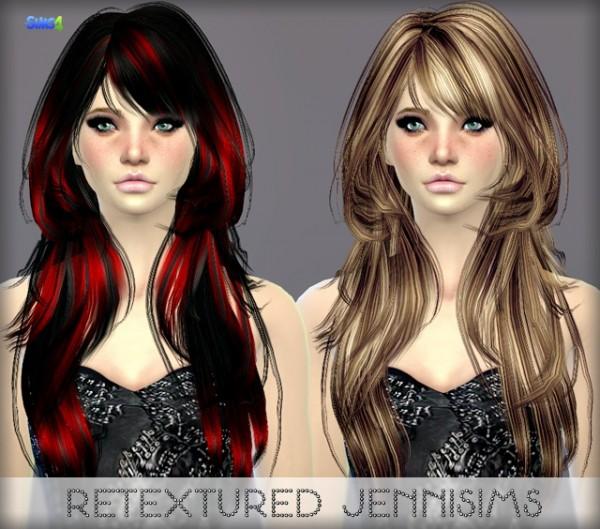 Jenni Sims: Elasims Hairstyle Retextured (including mesh)