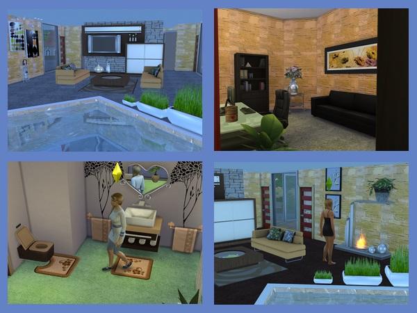 Akisima Sims Blog: Modern home 4